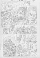 COCKRUM, DAVE - Solar #? pencil pg 10 Comic Art