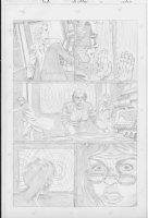 COCKRUM, DAVE - Solar #? pencil pg 11 Comic Art
