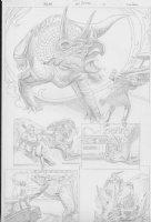 COCKRUM, DAVE - Solar #? pencil pg 12 Comic Art