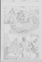 COCKRUM, DAVE - Solar #? pencil pg 13 Comic Art