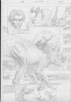 COCKRUM, DAVE - Solar #? pencil pg 14 Comic Art
