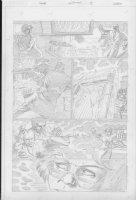 COCKRUM, DAVE - Solar #? pencil pg 15 Comic Art