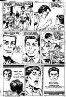 COCKRUM, DAVE - Batman #410 pg 22, Batman, 1st Robin / Jason Todd & father + 2-Face Comic Art