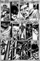 COCKRUM, DAVE - Batman #423 pg 3 - Batman saves bridge jumper Comic Art