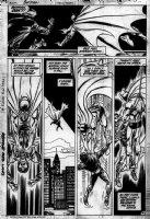 COCKRUM, DAVE - Batman #423 pg 4 - Batman saves bridge jumper Comic Art