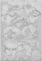 COCKRUM, DAVE - Solar #? pencil pg 18 Comic Art