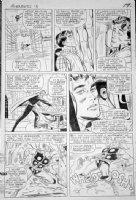 HECK, DON - Avengers #13 large pg 19, Thor, 1st Count Nefaria / Gravitron Comic Art