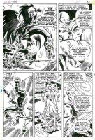 HECK, DON / JOHNNY CRAIG - Iron Man #26 pg 26, Iron Man in battle Comic Art