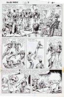 SEVERIN, MARIE / TOM PALMER - Fallen Angels #3 pg 11 Comic Art