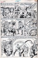 SEVERIN, MARIE - Not Brand Echh #11 pg 1 splash, school kid becomes Mister Fantastic Comic Art