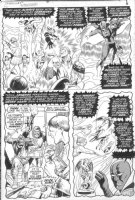 SEVERIN, MARIE - Submariner #22 pg 5, Dr Strange & origin Undying Ones Comic Art