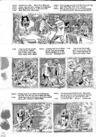 ELDER, BILL / KURTZMAN layouts - Mad Magazine #24 (1st issue), huge pg 3 of 9 page story Comic Art
