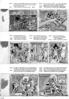 ELDER, BILL / KURTZMAN layouts - Mad Magazine #24 (1st issue), huge pg 4 of 9 page story Comic Art