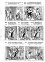 ELDER, BILL / KURTZMAN layouts - Mad Magazine #24 (1st issue), huge pg 5 of 9 page story Comic Art