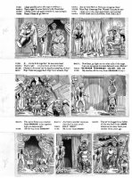 ELDER, BILL / KURTZMAN layouts - Mad Magazine #24 (1st issue), huge pg 8 of 9 page story Comic Art