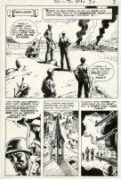 HEATH, RUSS - Our Army At War #219 Splashy pg 7, Sgt Rock & Easy Company 1970 Comic Art