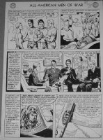 HEATH, RUSS - All American Men of War #12 large pg 2, all services branches Comic Art
