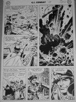 HEATH, RUSS - GI Combat #59 large pg 6- last page,  Have Bazooka...Will Travel  Comic Art