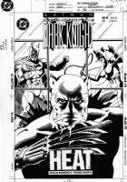 HEATH, RUSS - Batman Legends of Dark Knight #46 cover: Catwoman & Catman Comic Art
