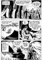 HEATH, RUSS - G I Combat #139 pg 8, Haunted Tank, Jeb Stuart marries princess Comic Art