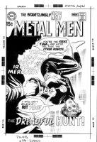 SEKOWSKY, MIKE & DICK GIORDANO - Metal Men #40 cover, Tina spotlighted Comic Art