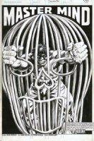 COLAN, GENE - Rampaging Hulk #19 pg 1 splash large, caged Hulk-  Comic Art