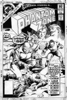 COLAN, GENE - Phantom Zone #2 cover featuring Superman and Supergirl Comic Art