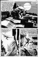 COLAN, GENE - Daredevil #78 pg 16 Comic Art