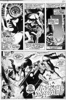 COLAN, GENE - Daredevil #78 pg 17 Comic Art