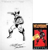 ROMITA SR, JOHN - Wolverine Model Kit box Cover Comic Art