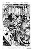 ROMITA SR, JOHN layouts / BILL REINHOLD finishes - The Prowler #4 cover, Prowler vs Vulture Comic Art