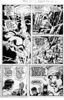 CARDY, NICK / BOB BROWN - Brave and Bold #97 pg 17, Batman & JSA' Wildcat Comic Art