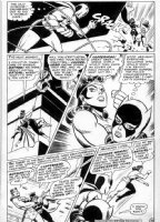 BROWN, BOB - Brave and the Bold #78 pg 18, Batman, Wonder Woman vs Batgirl Comic Art