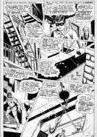 BROWN, BOB - Detective Comics #378 pg 10, Robin  Comic Art