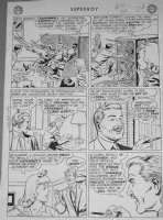 PAPP, GEORGE - Superboy #93 2-up pg 6, Clark, Krypto & Lana Lang Comic Art