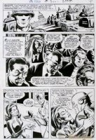 NOVICK, IRV / MURPHY ANDERSON - Flash #200 pg 4, Flash under Femme' spell Comic Art