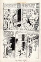 CRANDALL, REED - Classics Ill  Freedoms Cause  pg 31, Braveheart story Comic Art