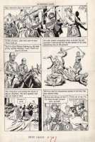 CRANDALL, REED - Classics Ill  Freedoms Cause  pg 7, Braveheart story Comic Art