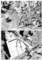CRANDALL, REED - Warren Time Machine pg 4, travelings in machine  Comic Art