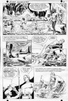 CRANDALL, REED - Flash Gordon #11 pg 4, Flash cave fishing Comic Art