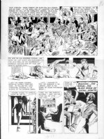 CRANDALL, REED - Creepy #7 Warren pg 5 - Devils orgy with Hitler & Napoleon Comic Art