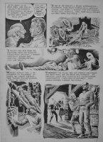 CRANDALL, REED - Eerie #2 pg, origin of Frankenstein monster Comic Art