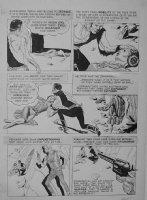 CRANDALL, REED - Creepy #54 Warren pg 28, wild west - 1970  Comic Art