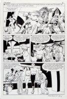 CRANDALL, REED - Flash Gordon #8 pg 5, Flash, Dale, scientists, kangaroo-men  Comic Art