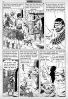 CRANDALL, REED - Classics Ill  Freedoms Cause  pg 30, Braveheart story Comic Art