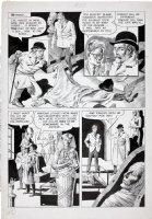 CRANDALL, REED - Eerie #5 pg 6, Mummy stalks 1966 Comic Art