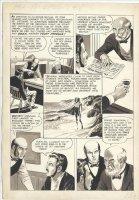 CRANDALL, REED - Creepy #8 pg 13, ink & wash - Dracula Comic Art