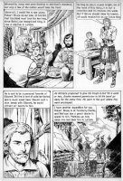CRANDALL, REED - Classics Ill  Freedoms Cause  pg 17, Braveheart story Comic Art