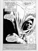 DEZUNIGA, TONY - Secrets of Haunted House #37 pg 1 splash, Destiny of Neil Gaiman's Endless Comic Art