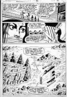 GULACY, PAUL - Master of Kung Fu #33 pg 31, big splash panel  Comic Art